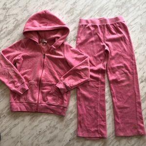 Girls Bubblegum Valour Juicy Couture Tracksuit 6